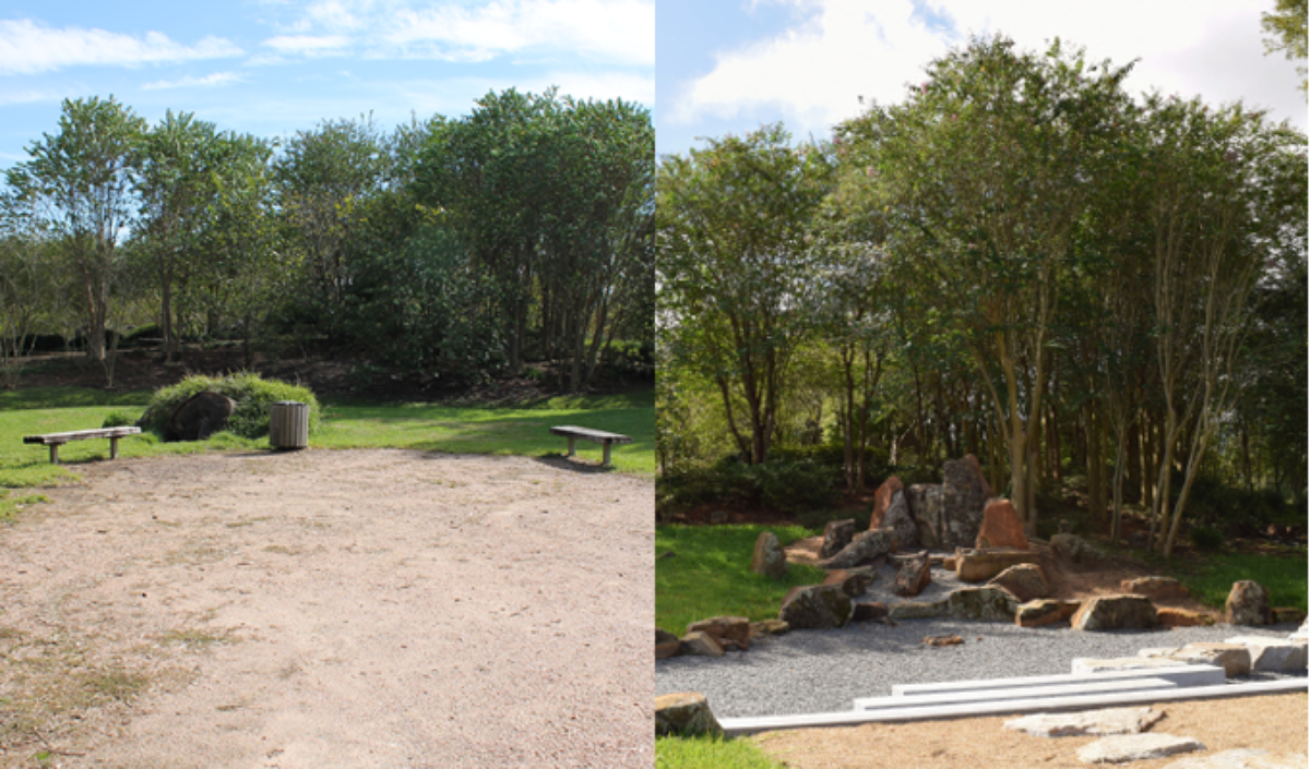 Before And After Hermann Park Conservancy